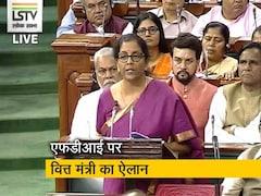 Video: बजट में FDI को लेकर वित्त मंत्री निर्मला सीतारमण का बड़ा ऐलान