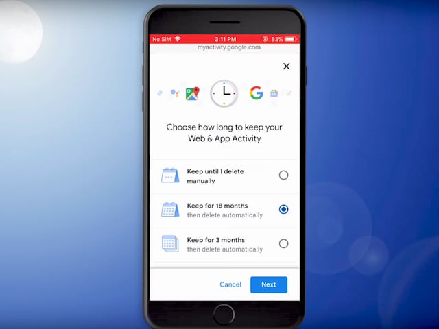 Video : How To Automatically Delete Your Location And Activity Data On Google