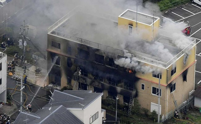 Suspected arson hits Japan animation studio, dozens injured