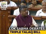 """Video : """"It's About Gender Justice,"""" Says Government On Triple Talaq Bill"""