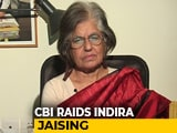 "Video : ""Targeted For Rights Work,"" Says Lawyer Indira Jaising After CBI Raids"