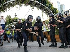 1,400 Arrested At Moscow Protest Demanding Free Elections In Russia
