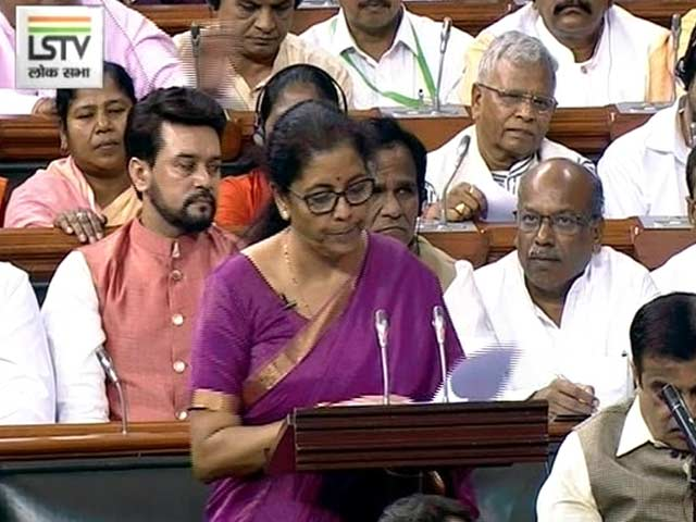 Video : Nirmala Sitharaman Presents 1st Budget Of Modi 2.0 Government