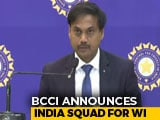 Video : Kohli To Lead India Squad For WI Tour, Bumrah Included In Test Team