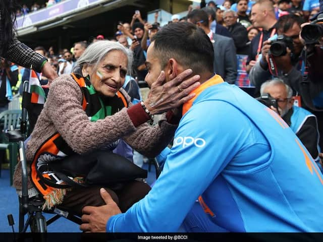 """""""India Will Win The World Cup"""": 87-Year-Old Fan Prays For Virat Kohli And Teams Success"""