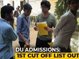 Video : Despite High Cut-Off, Delhi University Sees 9,000 Enrollments