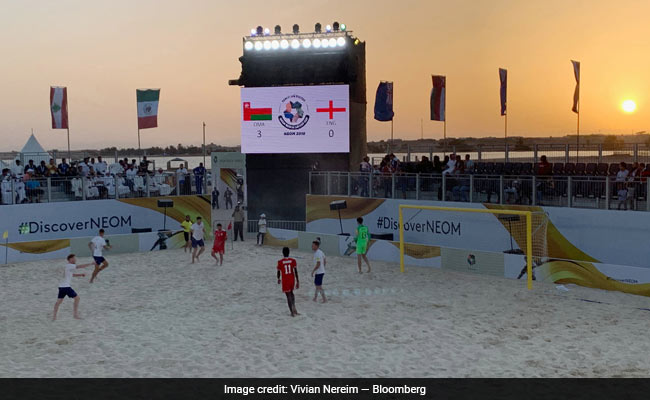 Beach Games Show Off Saudi Prince's Dream For $500 Billion Luxurious City