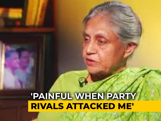 Video : Sheila Dikshit On Her Political Career (Aired: May 2009)