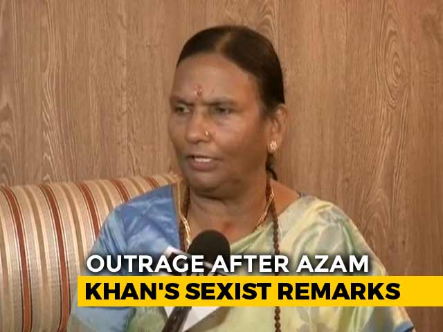 "Video : ""Azam Khan Must Apologise"": BJP Lawmaker On Sexist Remark Against Her"