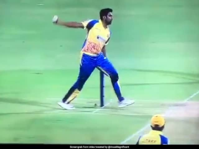 Ravichandran Ashwin Served Up A Unique Bowling Action During TNPL