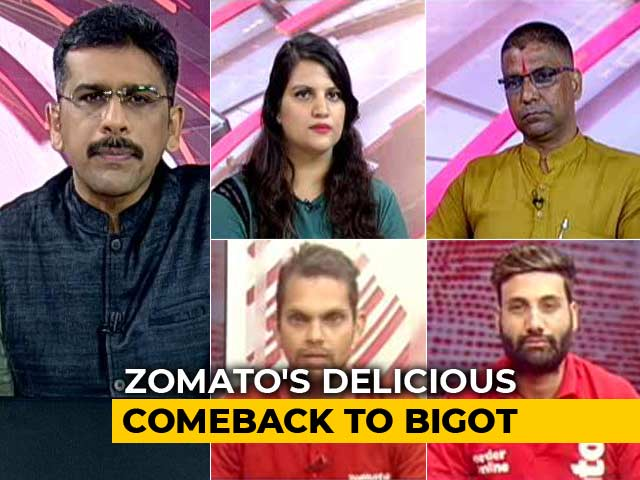 Video : The Zomato Controversy: Bigots, Get India's Message Loud And Clear