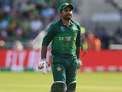 Watch: Angry Fan Demolishes Life-Size Cut-Out Of Sarfaraz Ahmed After Pakistan's T20I Series Loss