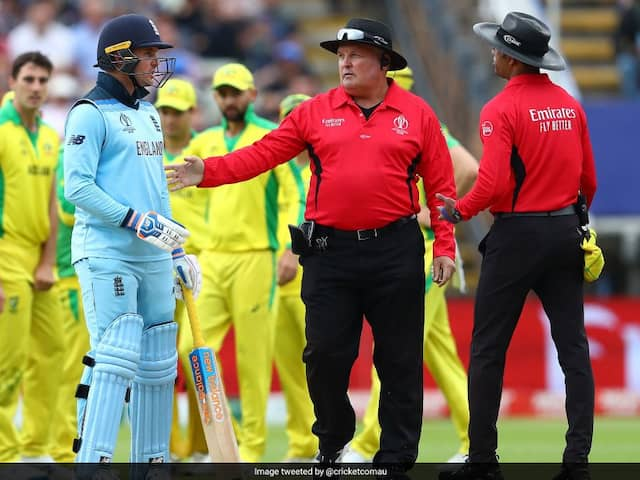 Jason Roy Going To Face Umpire Kumar Dharmasena In World Cup Final Again