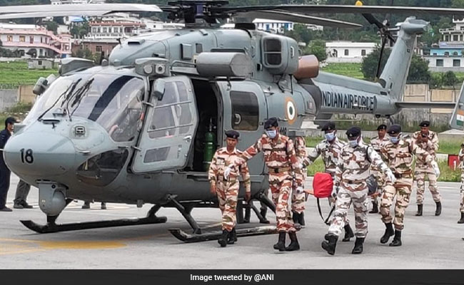 Indo-Tibetan Border Police special teams to rescue mountaineers