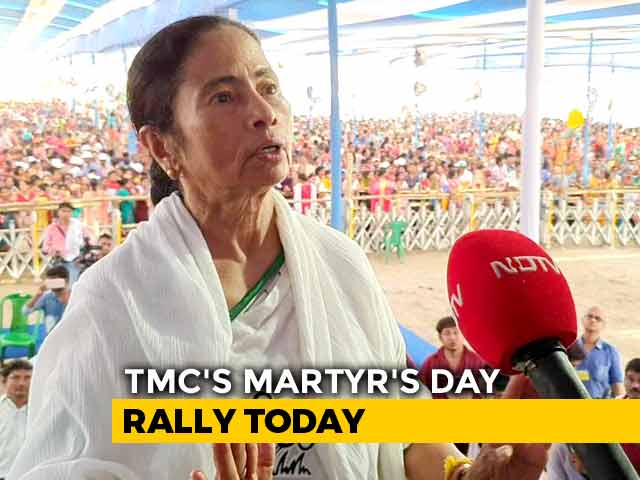 Video : Eyes On State Polls, Mamata Banerjee To Kick Off Mega Kolkata Rally Today