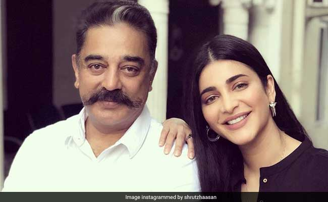 Shruti Haasan Says Dad Kamal Haasan Told Her It's 'Not Normal To Make 5-6 Films At A Time'