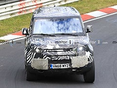 2020 Land Rover Defender Spotted Testing At The Nurburgring Circuit