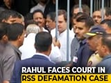 Video : Rahul Gandhi Pleads Not Guilty In Defamation Case By RSS Worker