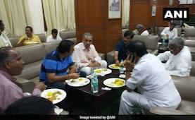 Congress Orders Dinner For BJP 'Friends' On Karnataka Protest Sleepover