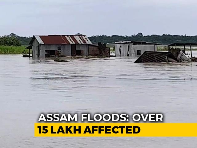 Video : 7 Killed, Over 15 Lakh Affected As Flood Situation Worsens In Assam