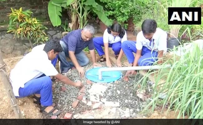 Mumbai Social Worker Installs Rainwater Harvesting Systems In Schools