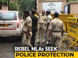 "Video : ""Serious Threat"": Rebel Karnataka Lawmakers Write To Mumbai Police Again"