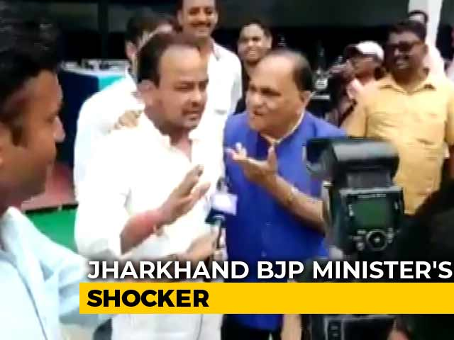 "Video : ""Say <i>Jai Shri Ram</i>"": Jharkhand Minister Heckles Muslim Legislator On Video"