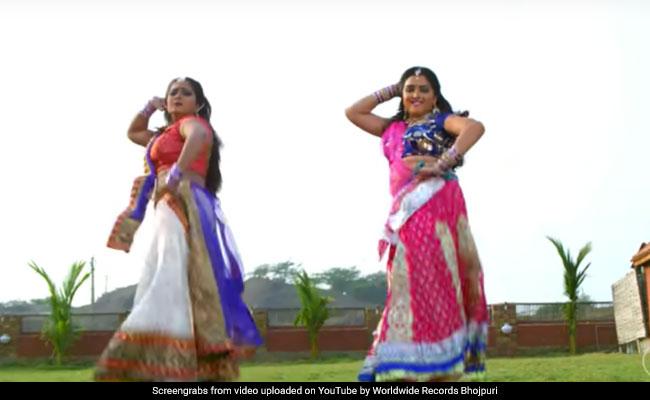 Bhojpuri Song: आम्रपाली दुबे और अंजना सिंह ने किया धमाकेदार डांस, Video 7 करोड़ के पार