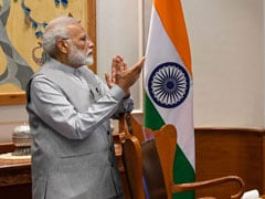 PM's Shout-Out To ISRO After Chandrayaan 2 Launch; He Watched From Office