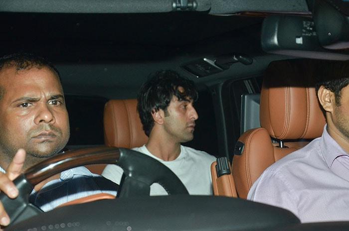 Deepika Padukone, Ranbir Kapoor spotted outside director Luv Ranjan's residence