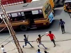 Machetes In Hand, 2 College Students Attack Rivals In Chennai Bus