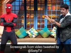 कपिल शर्मा के शो में पहुंचे स्पाइडर मैन, तो कॉमेडी किंग ने पूछ डाला ऐसा सवाल- देखें Video
