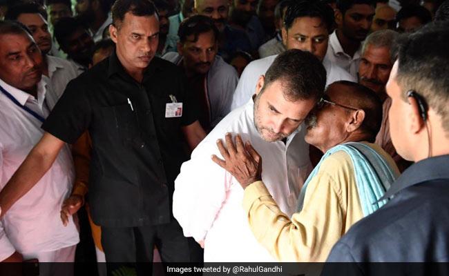 अमेठी पहुंचे राहुल गांधी, कहा- यहां आना घर जैसा लगता है