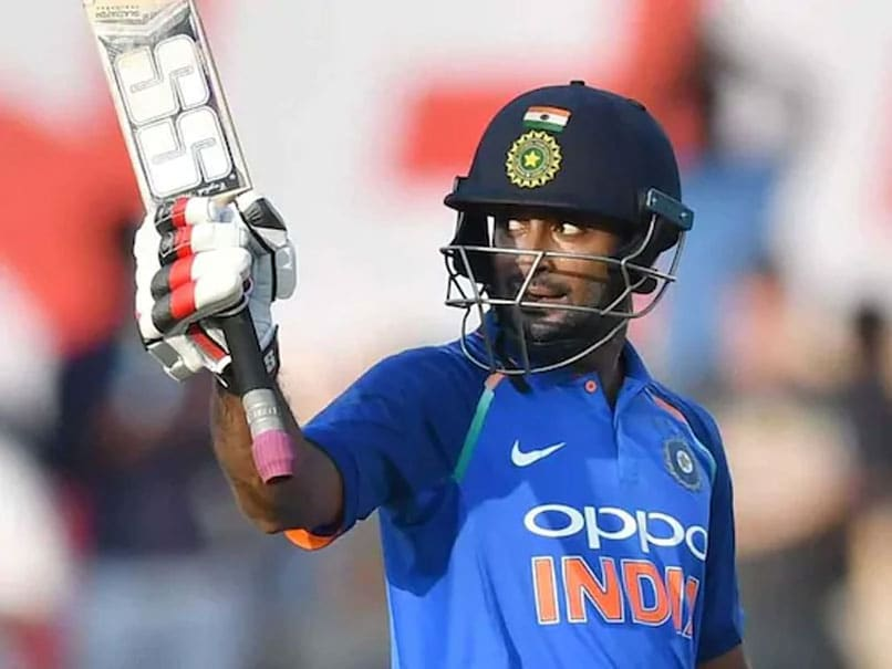 """No Bias"": Chief Selector MSK Prasad Speaks On Ambati Rayudu"