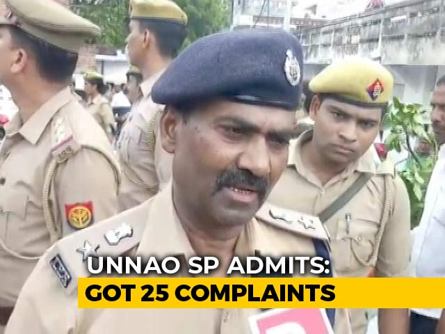 "Video : ""Still Studying Them"": Unnao Top Cop On 25 Complaints From Rape Survivor"