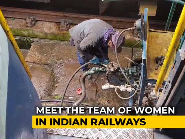 Video : This 'L-Team' Of 14 Kerala Women Is Responsible For Keeping Trains Safe