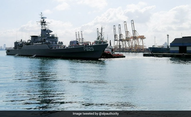 China Gifts Military Warship To Sri Lanka In sign Of Deepening Cooperation