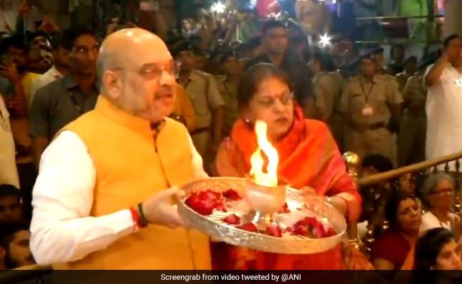 Ahead Of Today's Jagannath Rath Yatra, Amit Shah Offers Prayers