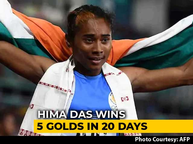 "Video : Gagan Narang Suggests ""Uncomplicated"" Approach To Hima Das For Olympics"