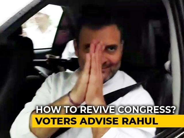 Video : Get Back To Basics, Amethi Tells Rahul Gandhi