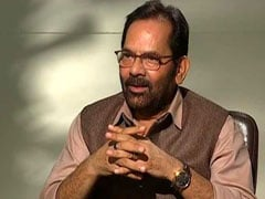"Nobody Should Be Forced To Chant ""<i>Jai Shri Ram</i>"", Says Mukhtar Abbas Naqvi"