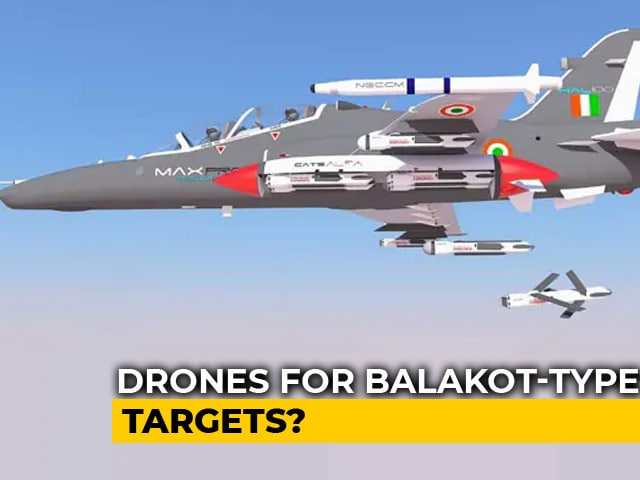 Video : Swarms Of Indian Drones Being Designed To Take Out Targets Like Balakot
