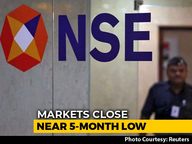 Video : Nifty Settles Below 11,100, Falls To Lowest Level In Nearly 5 Months