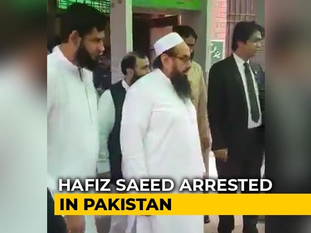 "Video : ""Great Pressure Exerted To Find Him"": Donald Trump On Hafiz Saeed Arrest"