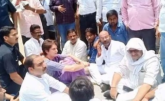 Priyanka Gandhi Stopped On Way To Visit Families Of 10 Shot Dead In UP