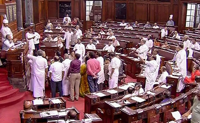 High Drama In Rajya Sabha During Voting On RTI Amendment Bill