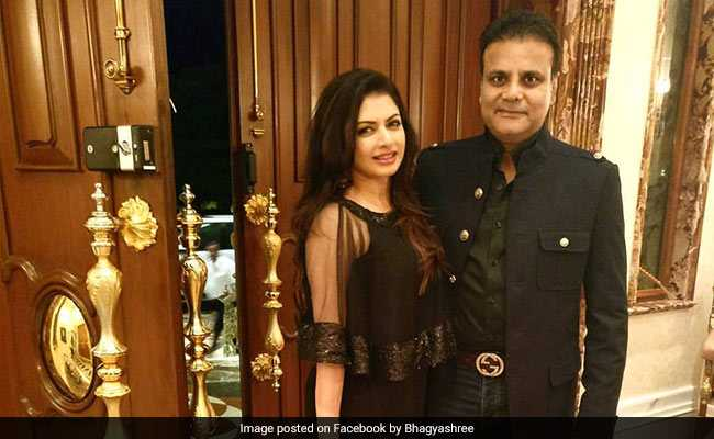 Actor Bhagyashree's Husband Arrested Over Alleged Role In Gambling Racket