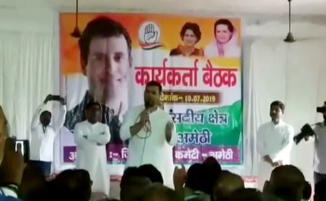 'Opposition's Work Most Enjoyable, Easy,' Says Rahul Gandhi In Amethi