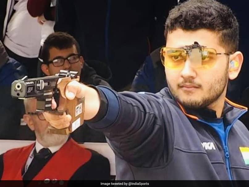 ISSF Junior World Cup: Anish Bhanwala Wins 25m Rapid Fire Pistol Gold, Silver For Esha Singh