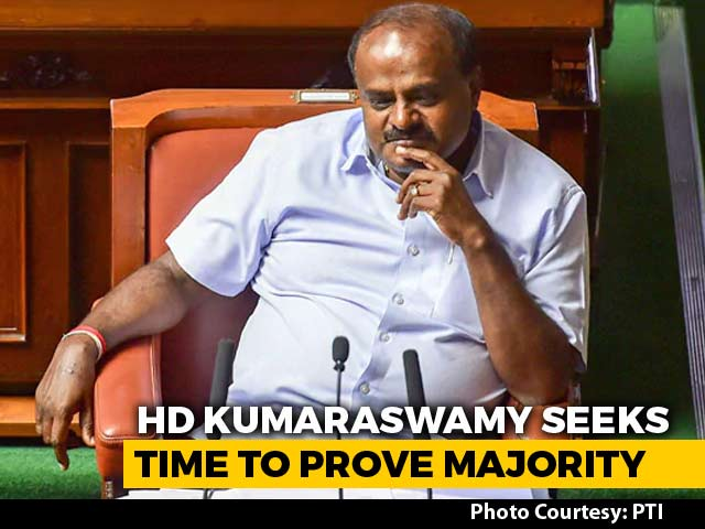 Video : As Karnataka Chief Minister Seeks Trust Vote, Lawmakers Off To Resorts